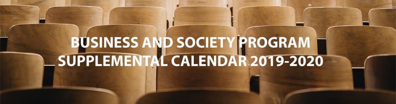 BUSO Supplemental Calendar 2019-2020
