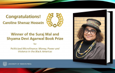 Shenaz Hossein wins inaugural Suraj Mal and Shyama Devi Agarwal Book Prize 2019